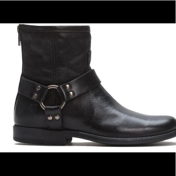 Frye Phillip short Harnass boot